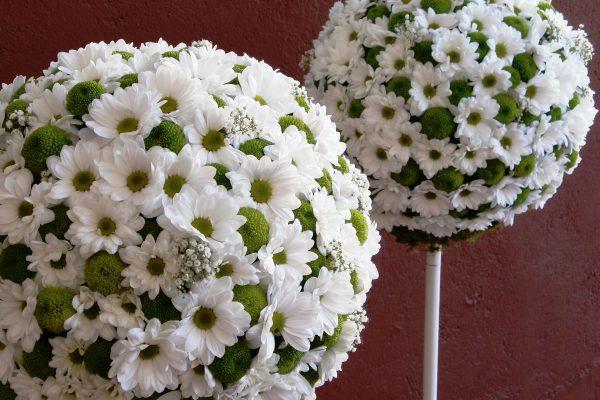 Creaciones Florales Bolas de Margas