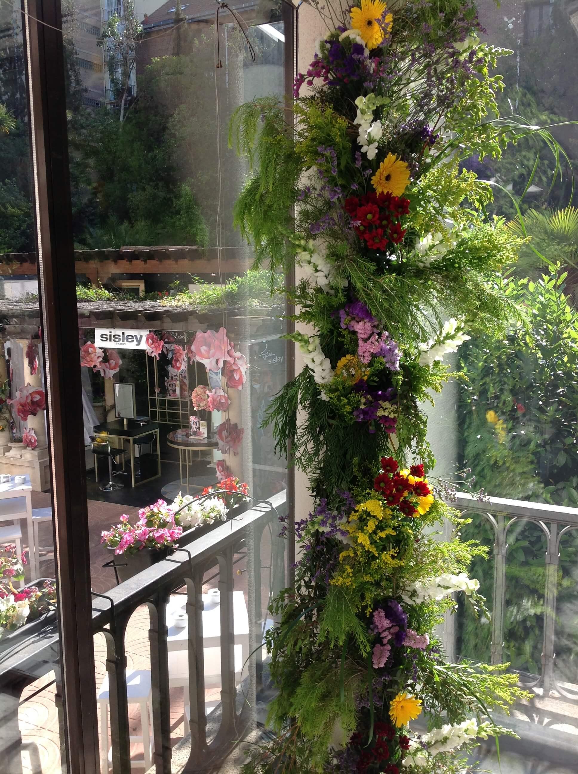 Creaciones florales guirnalda ef meras for Axex shop galeria jardin
