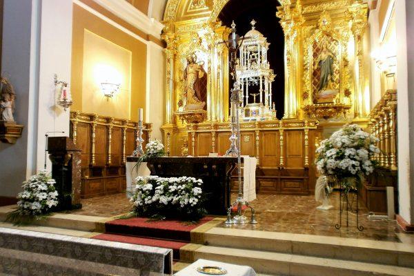 Decoración Iglesia de San Pedro