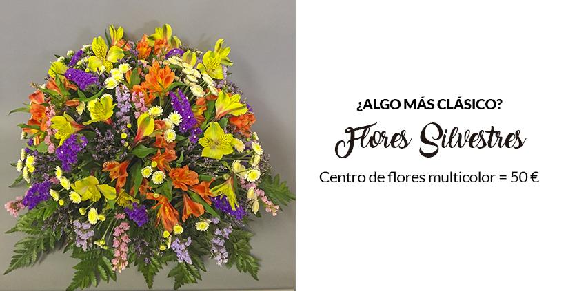 oferta en flores silvestres dia del pilar madrid