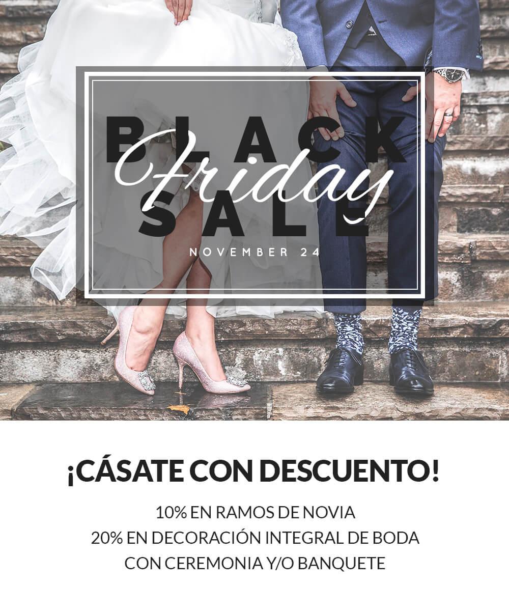 Oferta en decoración floral para bodas y novias en Madrid