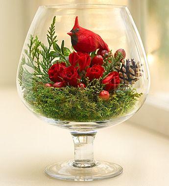 centros florales para decorar en navidad