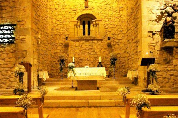 Decoración Iglesia de Bakio