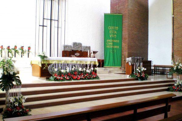 Decoración Iglesia Pío X