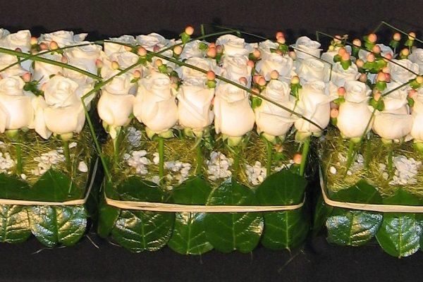 Creaciones Florales Paralelo de Rosas