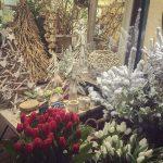 Ideas de pinos de navidad y flores, decoracion en Madrid
