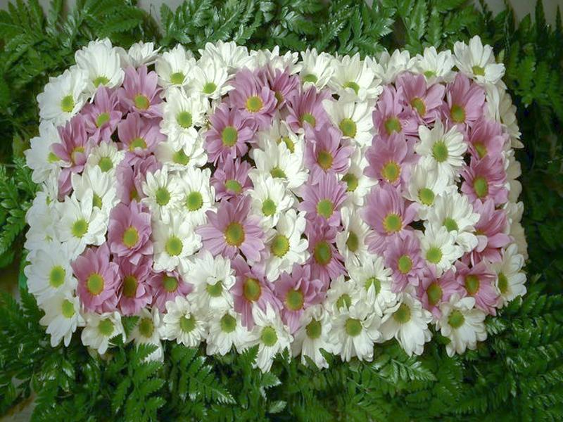 Flores con número para cumpleaños o aniversario